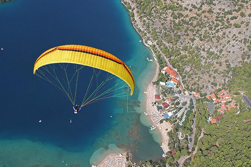 Greece Gleitschirm Flyranch