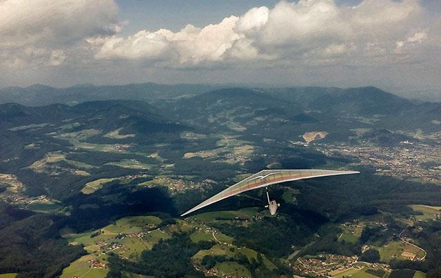 Alpine Höhenflüge Drachenfliegen mit Flyranch