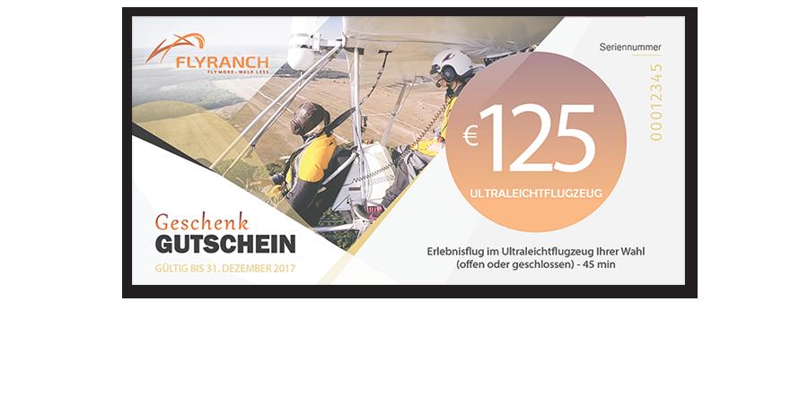 Flyranch Gutschein Flug Berlin