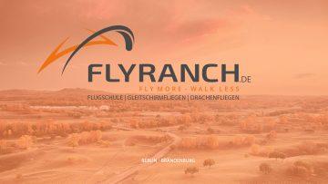 Flyranch Berlin Gleitschirm Drachenfliegen